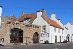 苏格兰渔场博物馆Anstruther鼓笛苏格兰 免版税库存图片