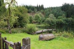 苏格兰湖 免版税库存照片