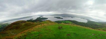 苏格兰湖 免版税图库摄影