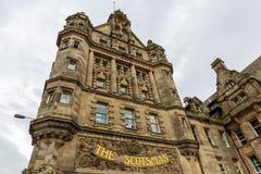 苏格兰男子旅馆爱丁堡 图库摄影