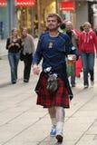 苏格兰男子 库存图片