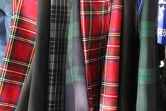 苏格兰男用短裙 库存图片
