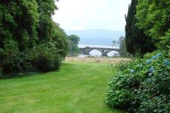 苏格兰的东部 狂放的苏格兰自然风景  免版税库存图片