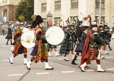 苏格兰的乐队军事orch国际节日的  免版税库存照片