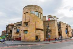 苏格兰的国家博物馆在爱丁堡,英国 库存照片