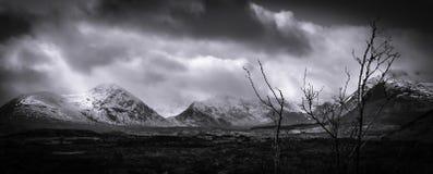 苏格兰的山 图库摄影