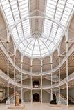 苏格兰的盛大画廊全国博物馆 库存照片