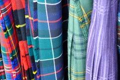 苏格兰的苏格兰男用短裙 免版税库存照片