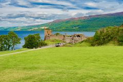 苏格兰的风景在英国 免版税图库摄影