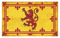 苏格兰皇家标准难看的东西旗子  免版税库存图片