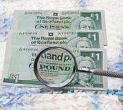 苏格兰磅 免版税库存图片