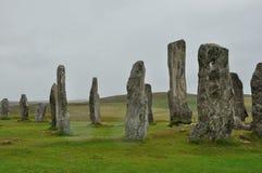 苏格兰竖石纪念碑3 库存图片