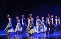 苏格兰舞厅舞蹈乌克兰异乎寻常的这奥地利的世界舞蹈 库存照片