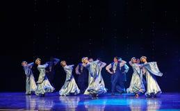 苏格兰舞厅舞蹈乌克兰异乎寻常的这奥地利的世界舞蹈 图库摄影