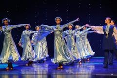 苏格兰舞厅舞蹈乌克兰异乎寻常的这奥地利的世界舞蹈 免版税图库摄影
