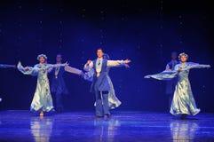 苏格兰舞厅舞蹈乌克兰异乎寻常的这奥地利的世界舞蹈 库存图片