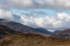 苏格兰西部高地方式 免版税图库摄影