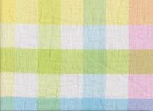 苏格兰语样式织品纹理的明亮的颜色 库存照片