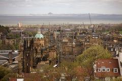 苏格兰首都 库存图片
