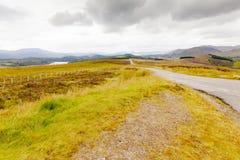 苏格兰高地在夏天 免版税图库摄影
