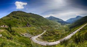 苏格兰高地横向 库存照片