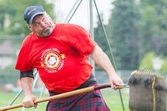 苏格兰高地比赛 免版税图库摄影