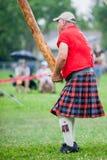 苏格兰高地比赛 免版税库存照片