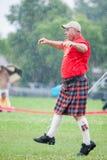 苏格兰高地比赛 免版税库存图片