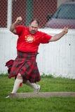 苏格兰高地比赛 库存照片