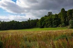 苏格兰高地的风景在因弗内斯附近的 库存图片