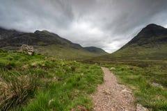 苏格兰高地苏格兰,英国 免版税库存照片