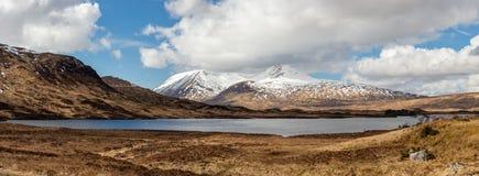 苏格兰高地苏格兰,英国 库存图片