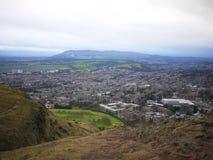 苏格兰高地,爱丁堡 图库摄影