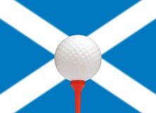 苏格兰高尔夫球 免版税库存照片