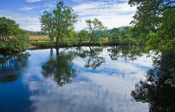 苏格兰,夏天横向 免版税图库摄影
