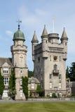 苏格兰,斜纹呢衬城堡 库存照片
