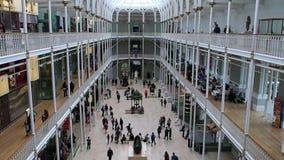 苏格兰,爱丁堡的国家博物馆 影视素材