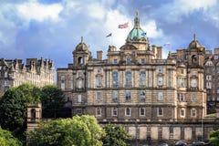 苏格兰,爱丁堡, 2016年, 7月, 02日:苏格兰银行 库存照片