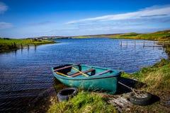 苏格兰,设得兰群岛 免版税库存图片
