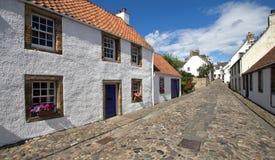 苏格兰, culross 库存照片