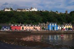 苏格兰, Tobermory,马尔岛 免版税图库摄影