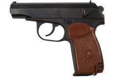 苏维埃9mm手枪 库存图片