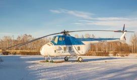 苏维埃MI-4直升机 免版税库存照片
