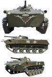 被跟踪的步兵作战车辆 免版税图库摄影