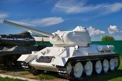 苏联中型油箱T-34-85 免版税库存图片