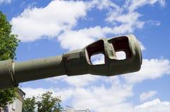 苏联坦克二战T-34  博物馆在戈梅利 迟来的 库存照片