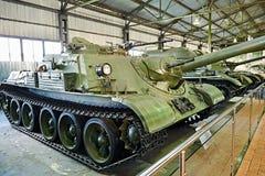 苏联坦克自走火炮SU-122-54 1954年 图库摄影