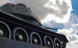 苏联坦克T-34在米斯克 免版税库存图片