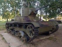 苏联坦克t-26 库存照片