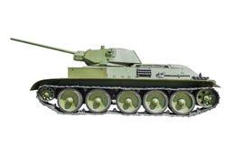 苏联坦克T-34/57 免版税库存照片